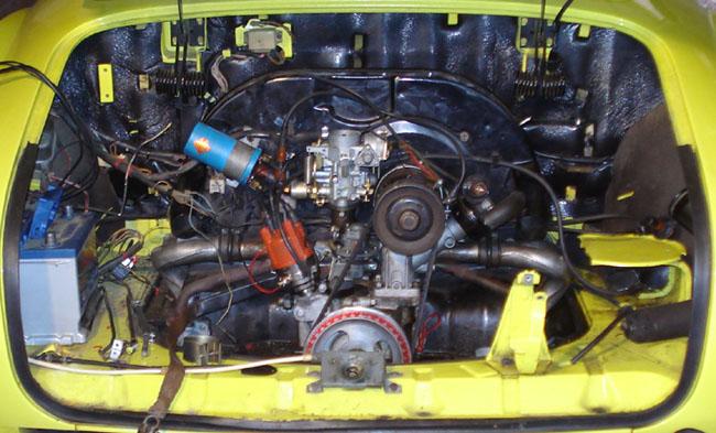 Karmann ghia motor 1600